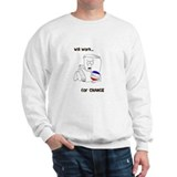 Cute Political cartoons Sweatshirt