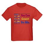 Count on Me Kids Dark T-Shirt
