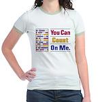 Count on Me Jr. Ringer T-Shirt