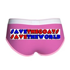 Save the Goats Women's Boy Brief