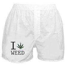 Cute Weed Boxer Shorts