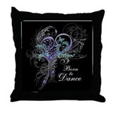 Dancer Throw Pillows