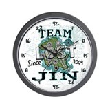 Team Jin Wall Clock