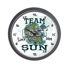 Team Sun Wall Clock