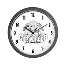 Gonad The Barbarian Wall Clock