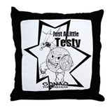 Gonad The Barbarian Throw Pillow