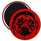 Pug Revolution Icon Magnet