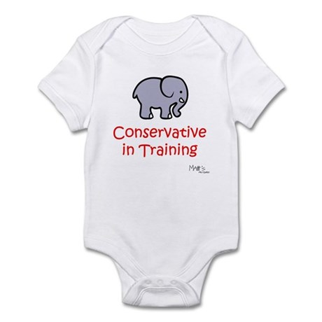 Conservative in Training Infant Bodysuit