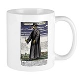 The Plague Doctor. Coffee Mug