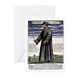 The Plague Doctor. Greeting Cards (Pk of 10)