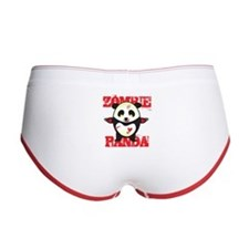 Zombie Panda Women's Boy Brief