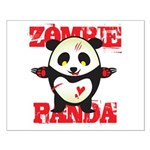 Zombie Panda Small Poster