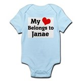 My Heart: Janae Infant Creeper