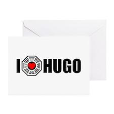 I Love Hugo - Dharma Greeting Cards (Pk of 10)