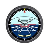 Unique Pilot Wall Clock