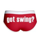 got swing? Women's Boy Brief