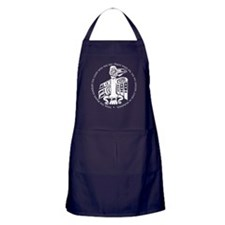 Cicely Raven with Quote Apron (dark)