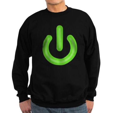 Power Button Dark Sweatshirt