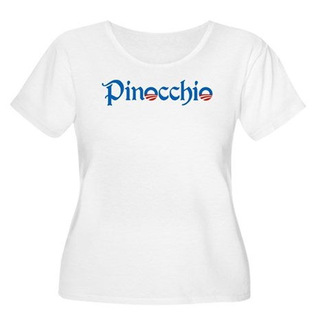 Pinocchio Women's Plus Size Scoop Neck T-Shirt