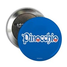 "Pinocchio 2.25"" Button (10 pack)"