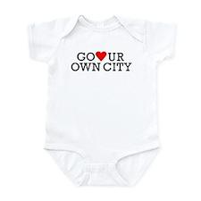 Go Heart Your Own City Infant Bodysuit