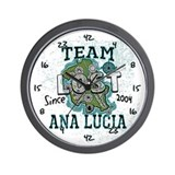 Team Ana Lucia Wall Clock