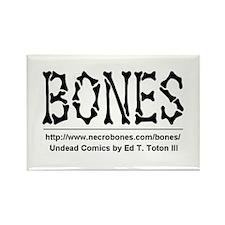 BONES Rectangle Magnet (100 pack)