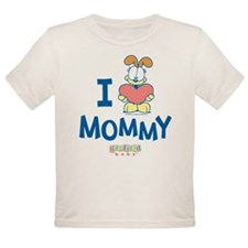 Baby ODIE, Heart Mommy, Tee