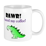 RAWR! I need my coffee! Mug