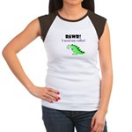 RAWR! I need my coffee! Women's Cap Sleeve T-Shirt