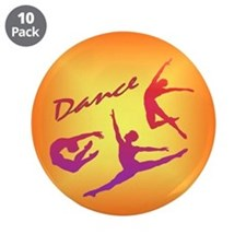 "Dance 3.5"" Button (10 pack)"