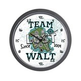 Team Walt Wall Clock