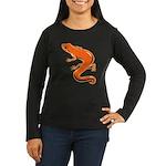 Newt Women's Long Sleeve Dark T-Shirt