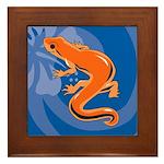 Newt Framed Tile