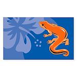 Newt Sticker (Rectangle 50 pk)