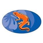 Newt Sticker (Oval)