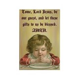 Common Table Prayer Rectangle Magnet
