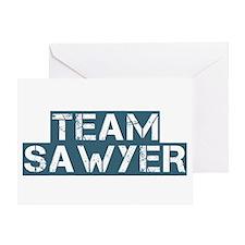 Team Sawyer (Lost) Greeting Card