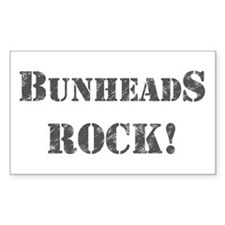 Bunheads Rock Decal