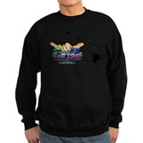 Hawaiian Islands with Logo Sweatshirt