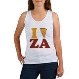 I (Heart/Slice) Za Women's Tank Top