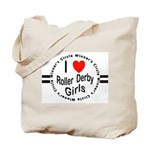 Roller Derby Tote Bag
