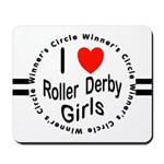 Roller Derby Mousepad