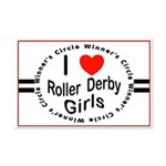 Roller Derby Mini Poster Print
