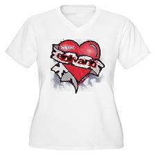 Edward Traditional Heart Tattoo T-Shirt