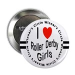 Roller Derby Button