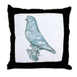 Lavender West Mottle Throw Pillow
