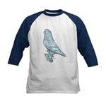 Lavender West Mottle Kids Baseball Jersey