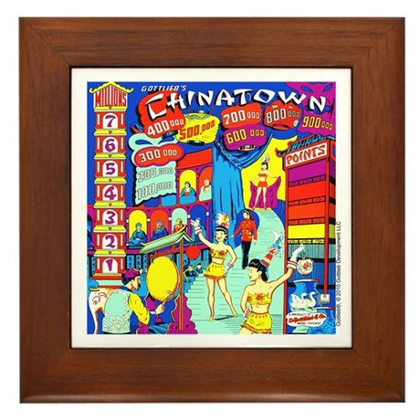 Gottlieb&reg; &quot;Chinatown&quot; Framed Tile
