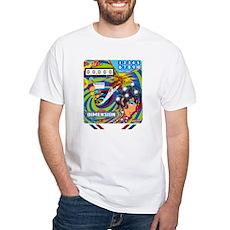 "Gottlieb® ""Dimension"" White T-Shirt"